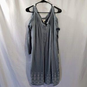 Knox Rose Cold Shoulder Dress Size M